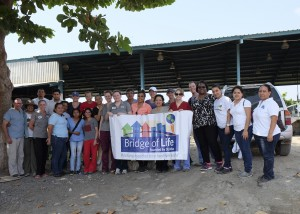 The Bridge of Life volunteer team in Guatemala, February 2016