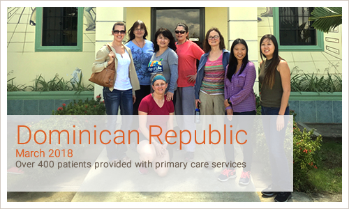 Over 400 patients provided with primary care services